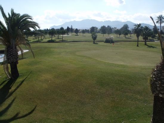 Oliva Nova Beach & Golf Hotel: golf course view from Club house