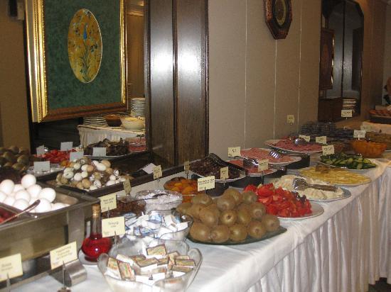 Hotel Ilkay: morgenbuffet