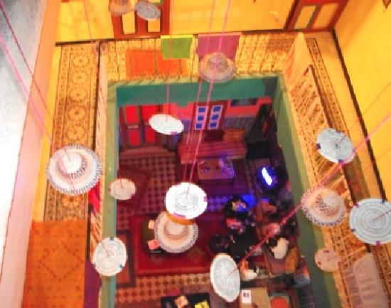 Rainbow Marrakech Hostel: floating hats and free dinners - hostel or fantasia?
