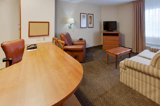 Candlewood Suites Secaucus: One Bedroom Suite.