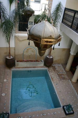 Riad Anjar : interieur
