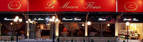 La Maison Fleurie : Outside view of the restaurant