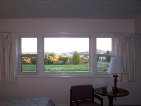View from every room at Indian Hill Motel