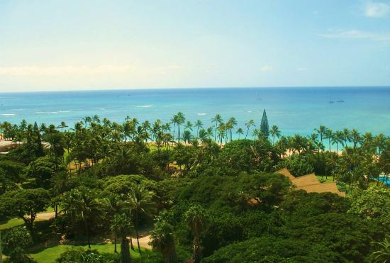 Hale Koa Hotel: View from our tower