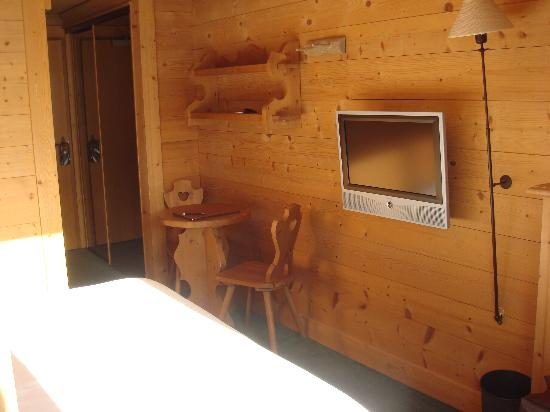Chalet Hotel Hermitage Paccard: chambre