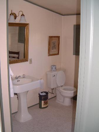 Page House Inn : Der Raum zum frisch machen