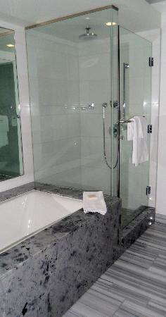 Fairmont Pacific Rim: Bathtub/Shower