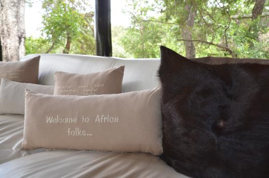Kuname Lodge: welcome