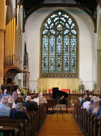 The Manor House: A concert in St Edmund's Church, Acle