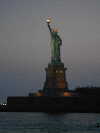 Spirit of New York: Lady Liberty at night