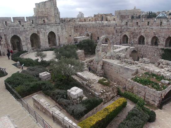 Davidszitadelle – Jerusalemer Stadtmuseum: Visão Panorâmica