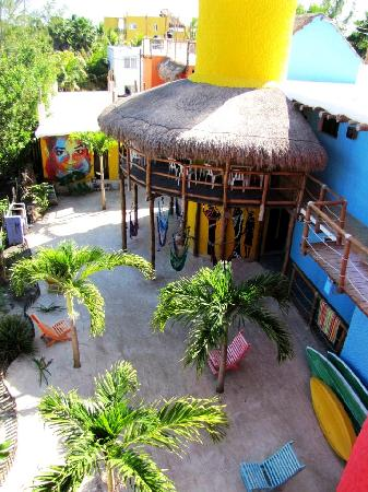 Tribu Hostel: View from the roof top terrace