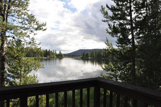 Moose Lake Lodge, LLC: View from deck