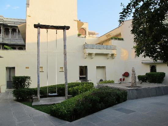 RAAS Devigarh : A courtyard
