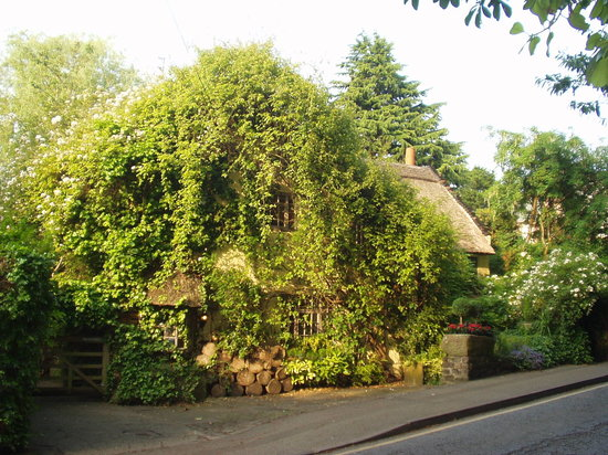 Alderley Edge, UK : The centuries old Wizards Thatch