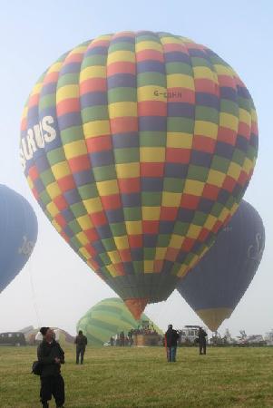 Aerosaurus Balloons: Tiverton Hot Air Balloon Festival