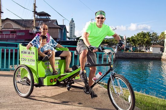 Honolulu Pedicab & Tours: Discovering Aloha Tower on Honolulu Pedicab.