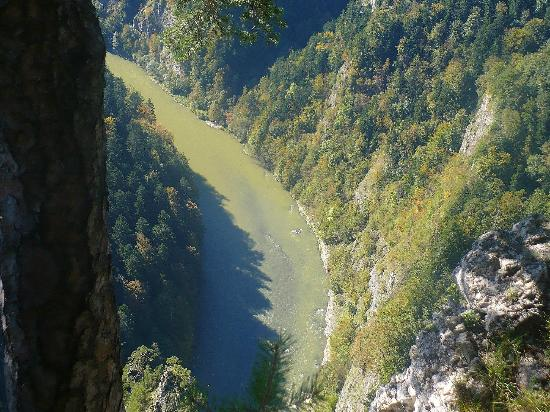 Poprad, สโลวะเกีย: An amazing view of the canyon Dunajec from top of the Three Crowns