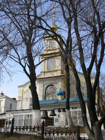 Svetlanskaya Street : Prisvyatoy Church of God.