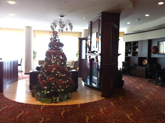 Courtyard Mississauga-Airport Corporate Centre West: Christmas tree on lobby