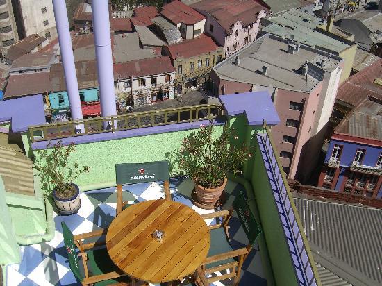 Hotel Manoir Atkinson: fantastic roof terrace