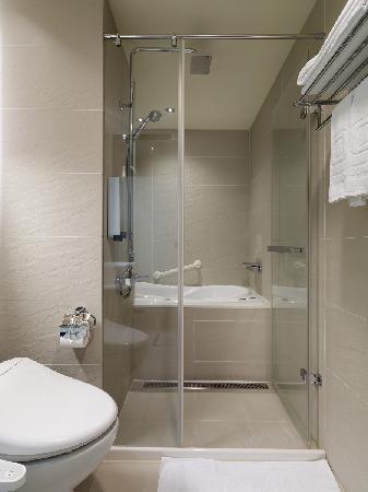 Dandy Hotel - Daan Park Branch: Deluxe Double park view room with washlet and  with Jacuzzi bathtub