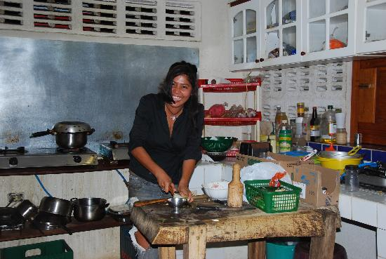 Bahona tropical: Maria nous prépare un souper Nicaraguyen