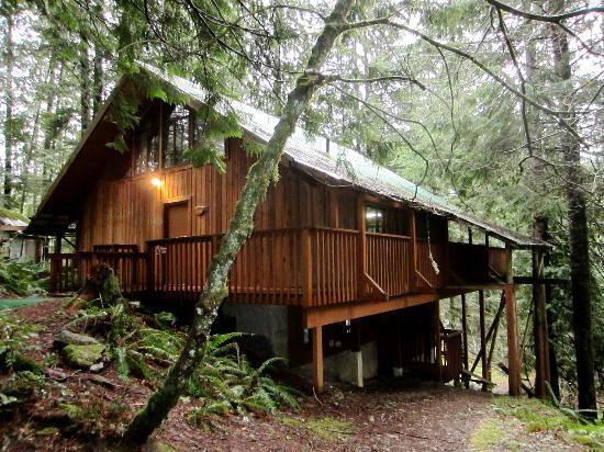 The Lodge Near Mount Rainier : the chalet