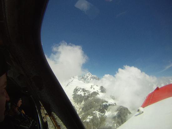 Skydive Fox Glacier: Nice view