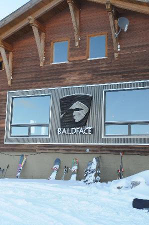 The Main Lodge at Baldface Lodge: The lodge