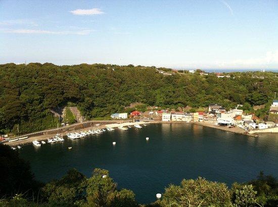 Oshima-machi, Japonia: 波浮港、見晴台