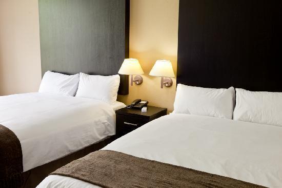 أودشوورن إن هوتل آند كونفرانسينج سنتر: All rooms with two double beds - extra lenght