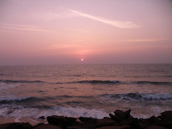 Kundapur, India: Sunset