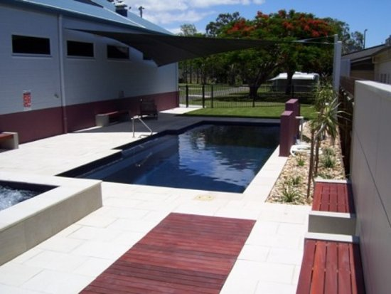 Fraser Coast Top Tourist Park: Therapeutic Mineral Health Pool & Spa