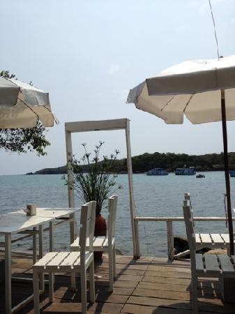 Vimarn Samed Resort : view from restaurant