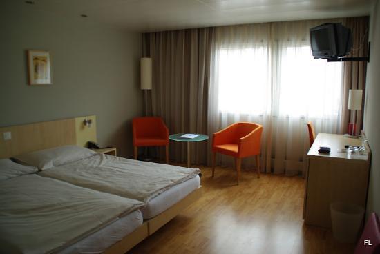Sorell Hotel Aarauerhof: Hotelzimmer vor Bezug