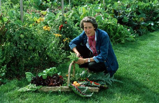 Alix de saint venant dans son jardin ch teau de valmer for Bruler dans son jardin