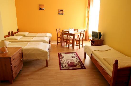 Hotelik Goldap : Quadruple Room