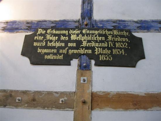 Churches of Peace in Jawor and Swidnica: Jauer, Friedenskirche, Datail