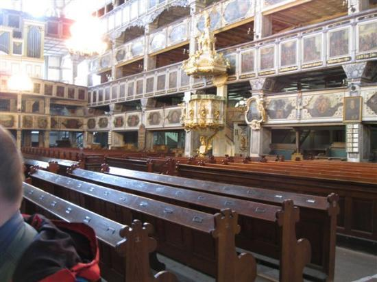 Churches of Peace in Jawor and Swidnica: Jauer, Friedenskirche, Innenraum