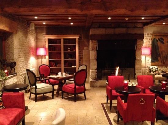Les Manoirs de Tourgéville: lounge