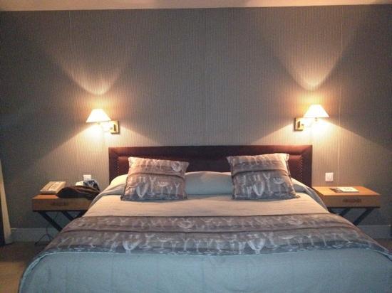Les Manoirs de Tourgéville : bedroom