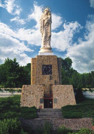 The Virgin Mary Monument, Haskovo city, Bulgaria