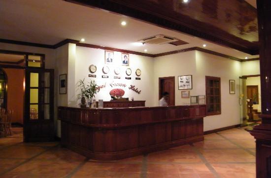 โรงแรมรอยัล คราวน์: accueil de l'hôtel