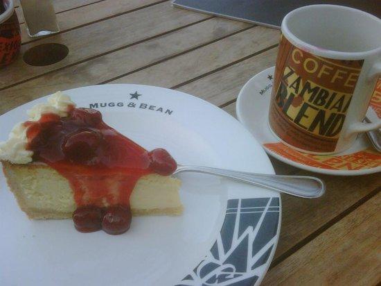 Mugg & Bean : Cheesecake