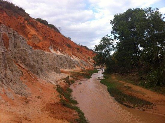 Phan Thiet, Vietnam: fairy stream