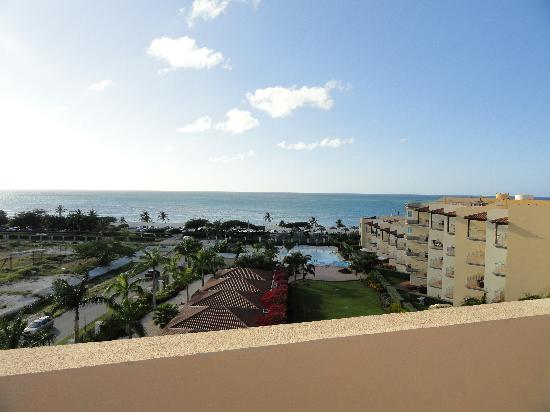 Oceania Deluxe Beachfront Resort: View from rooftop terrace