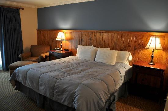 Hancock House Hotel : King Room