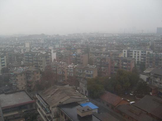 Tongdu International Hotel: Blick aus dem Fenster
