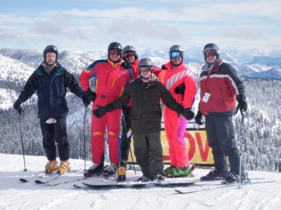 Whitefish, Монтана: Guys Ski Weekend